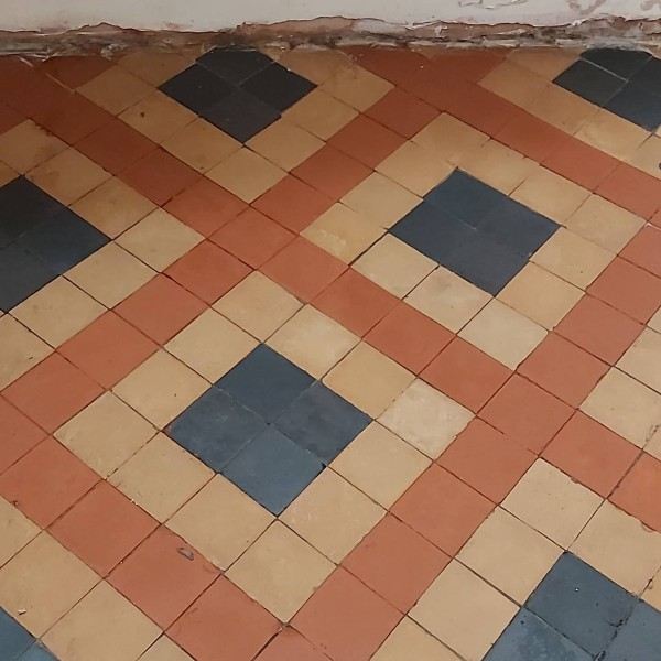 Victorian Tile After