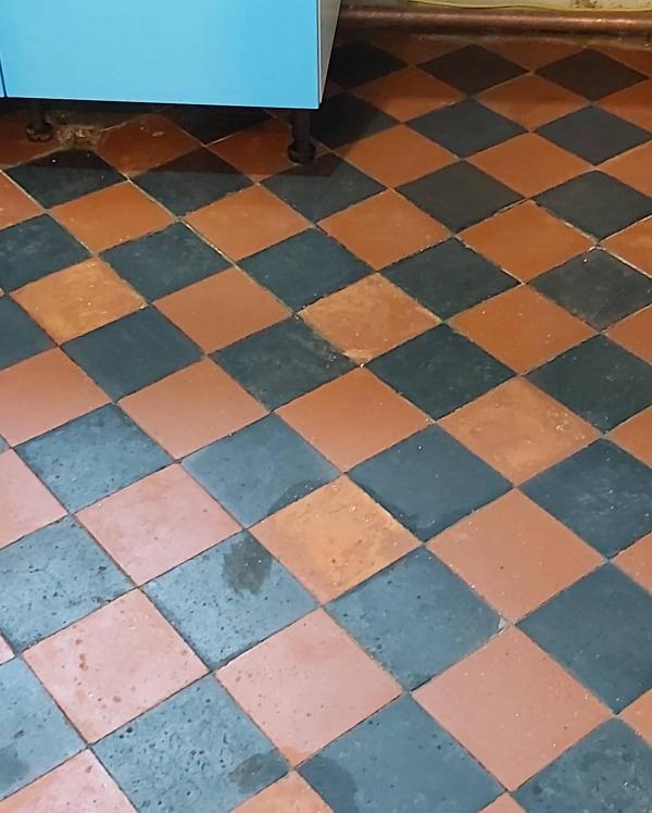 Quarry Tile After
