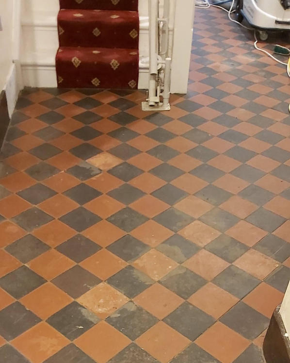 Quarry Tile Before