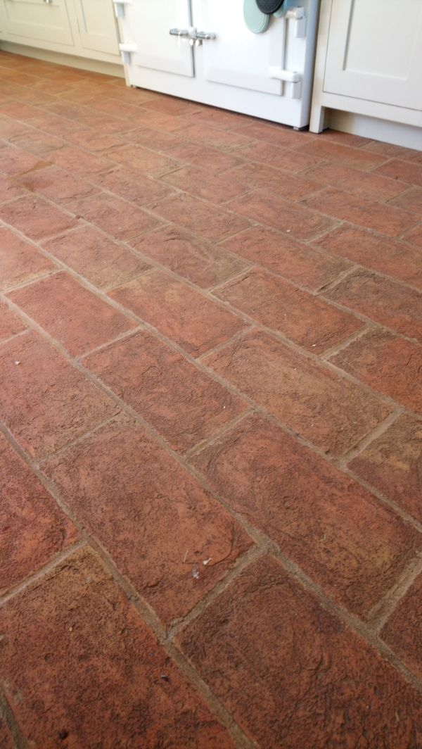 Terracotta Floor Before